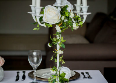 Ivy and Rose Candelabra