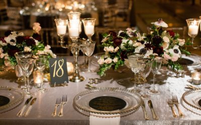 5 Things You Must Consider When Laying The Perfect Wedding Table